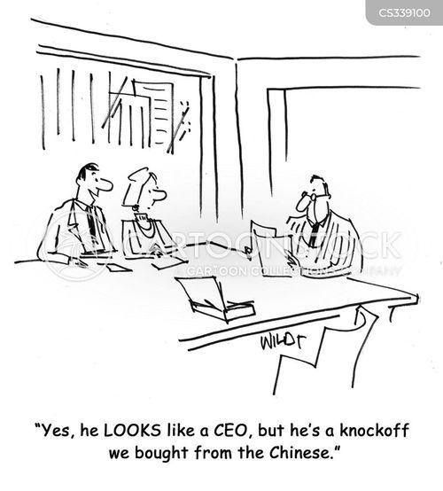 knockoff cartoon