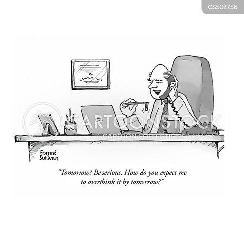 over-thinking cartoon