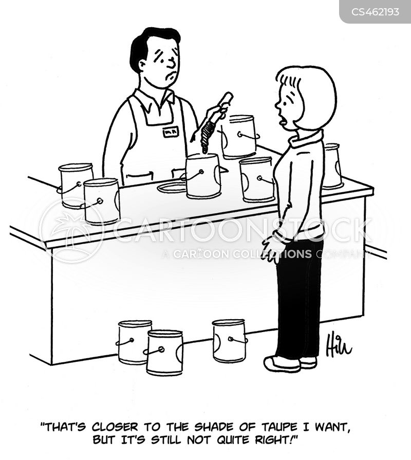 paint department cartoon