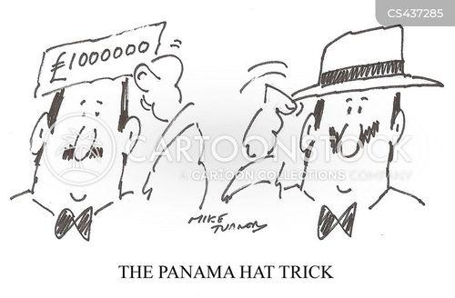 panama cartoon
