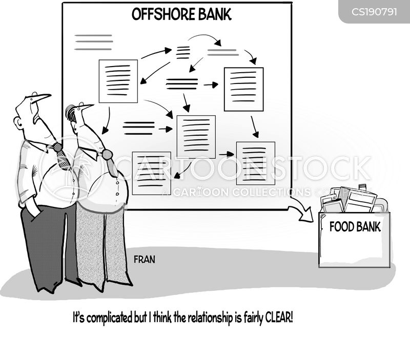 offshore banking cartoon