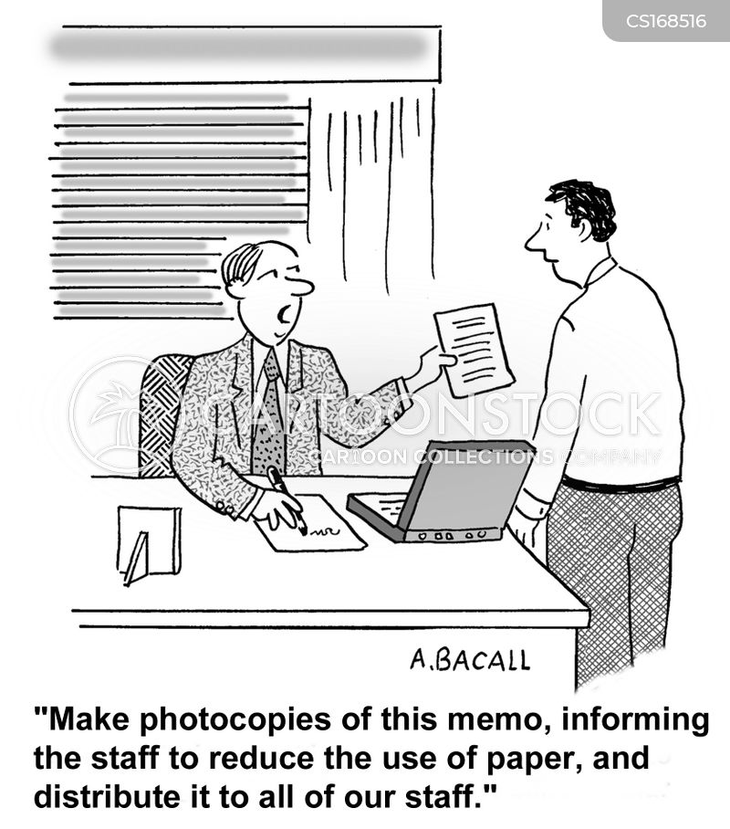 photocopies cartoon