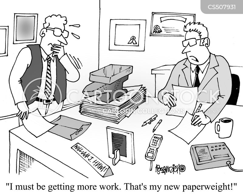 paperweights cartoon