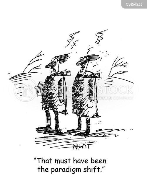 paradigm shifts cartoon