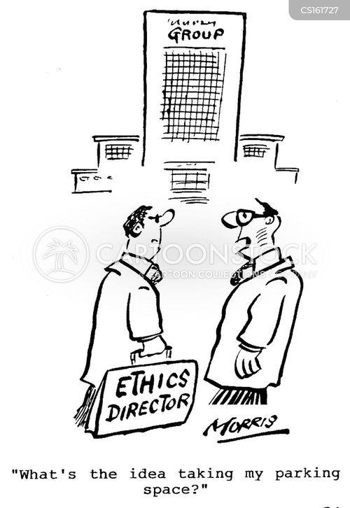 ethics directors cartoon
