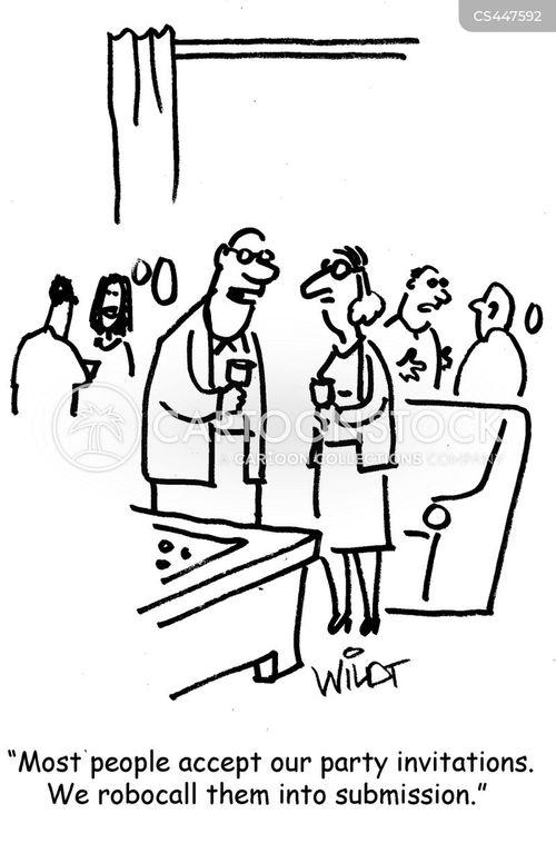 robocall cartoon