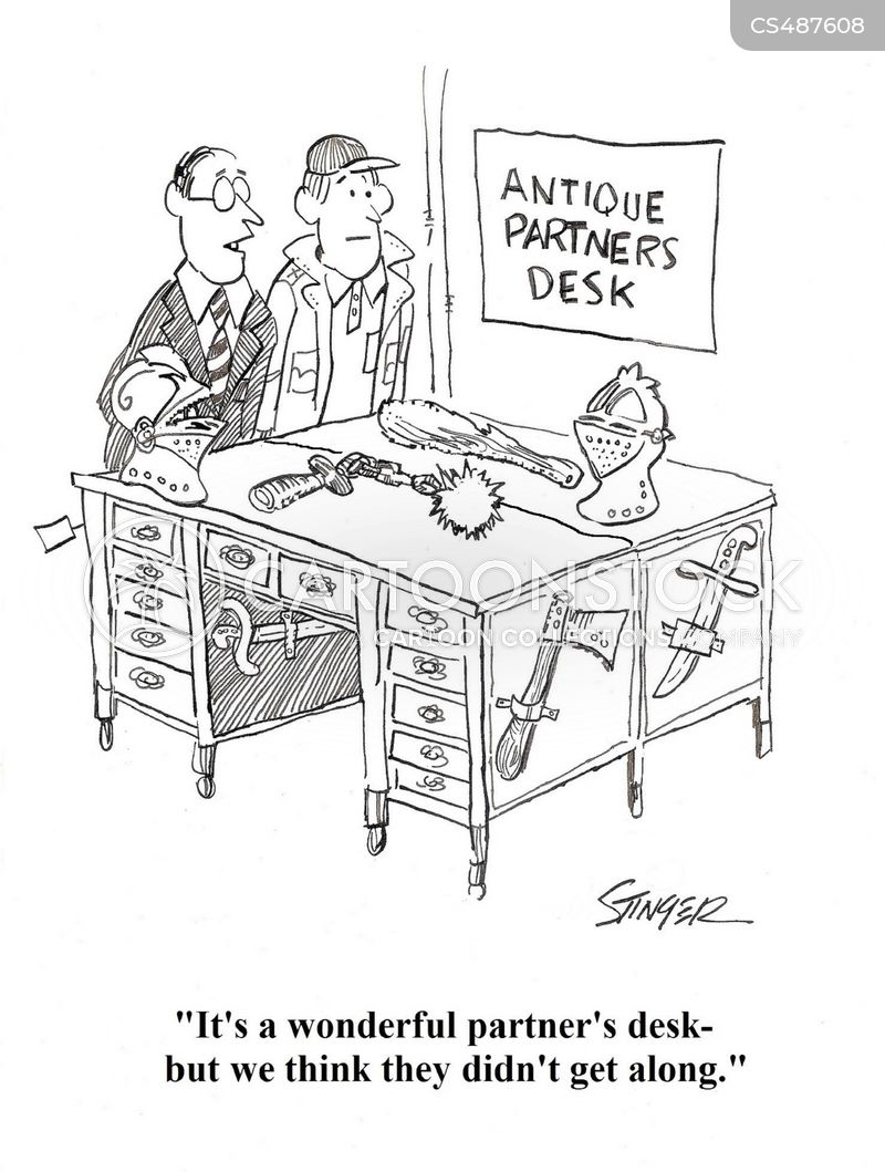antiques dealers cartoon