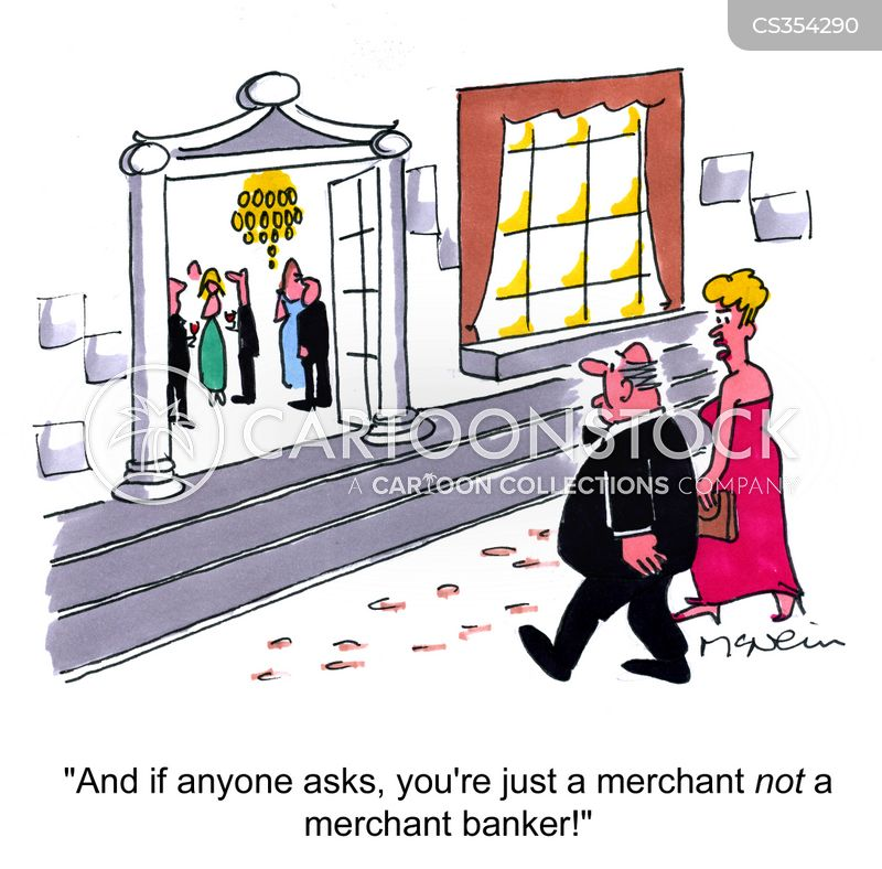 merchant bankers cartoon