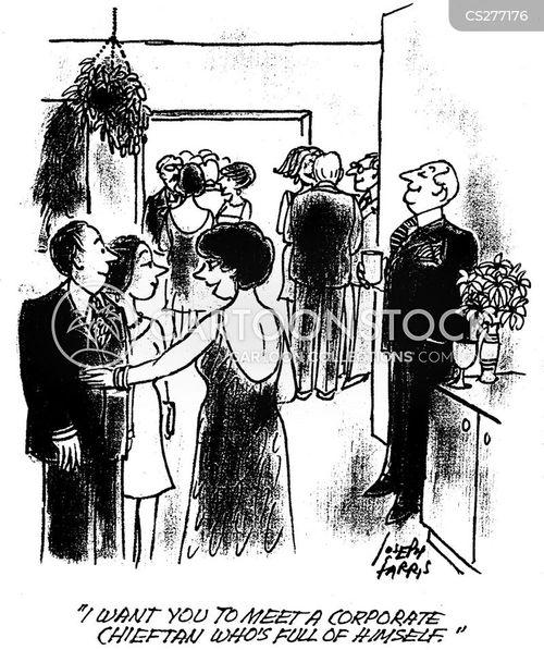 corporate executive cartoon