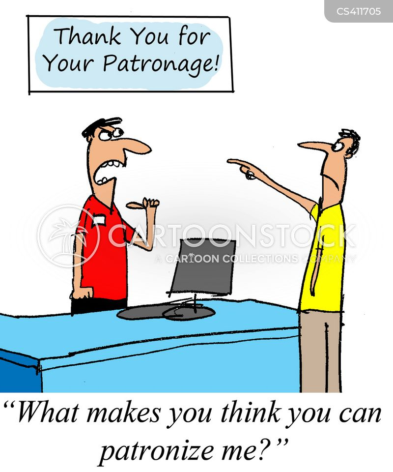 patronage cartoon