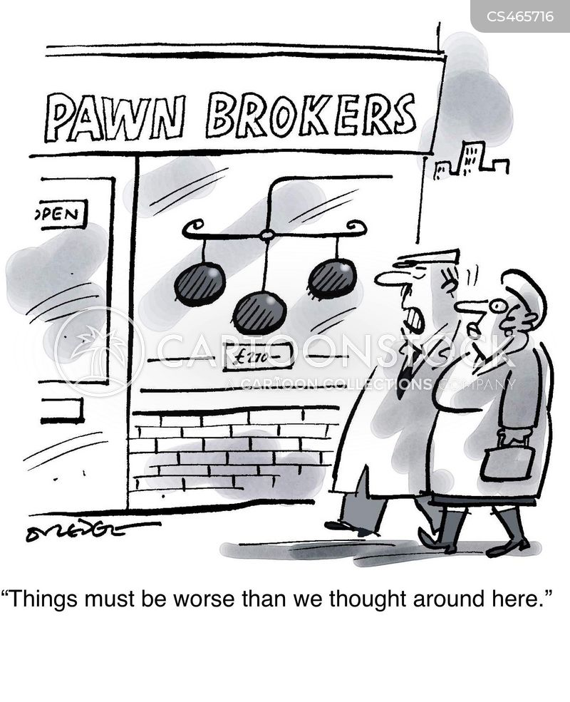 pawnbroker cartoon
