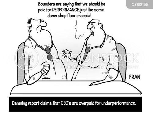 executive pay cartoon