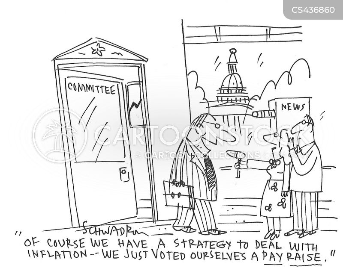 economic strategy cartoon