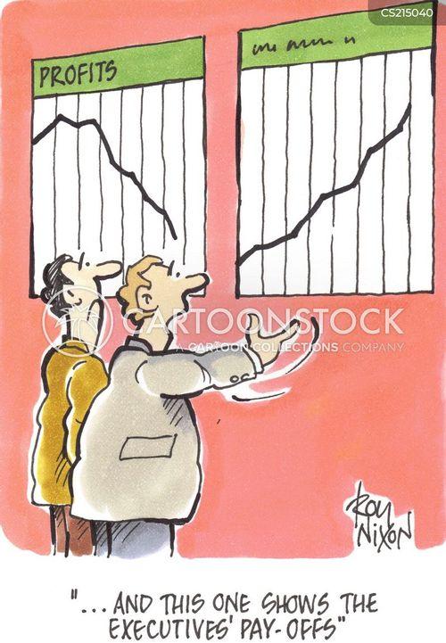 pay-offs cartoon