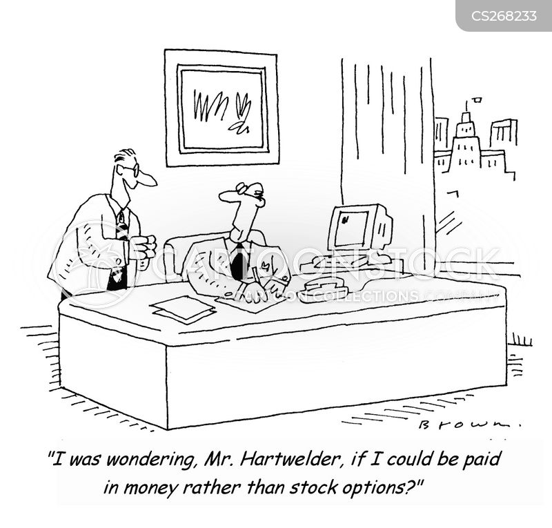 Getting stock options in a company