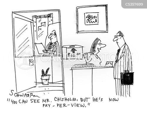 per cartoon