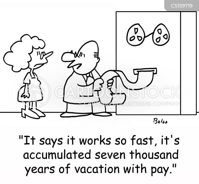 fast workers cartoon