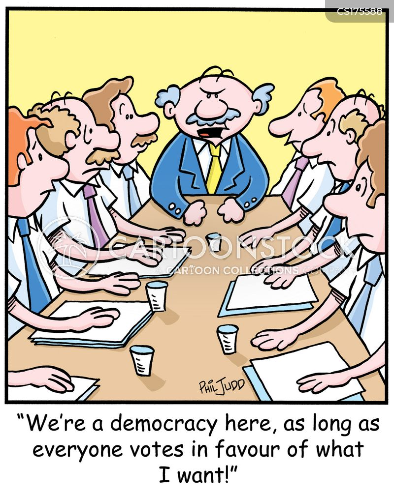 members cartoon