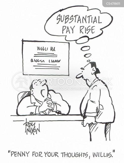 pay-rises cartoon