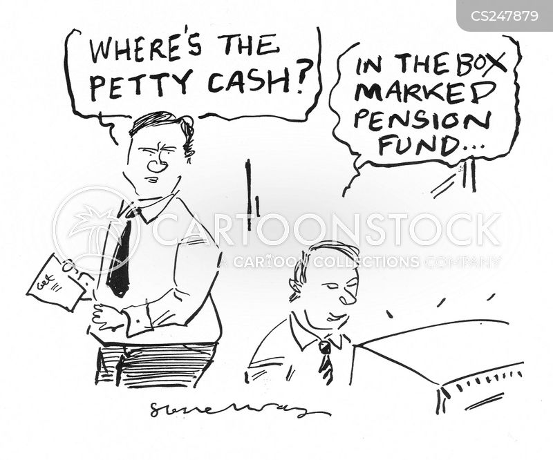 corporate theft cartoon