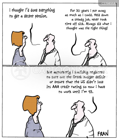 economic crises cartoon