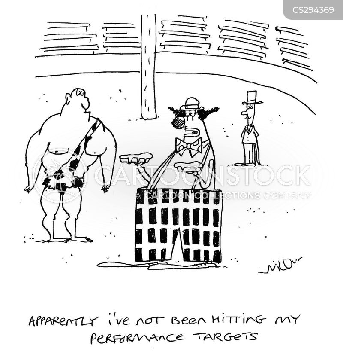 hitting targets cartoon