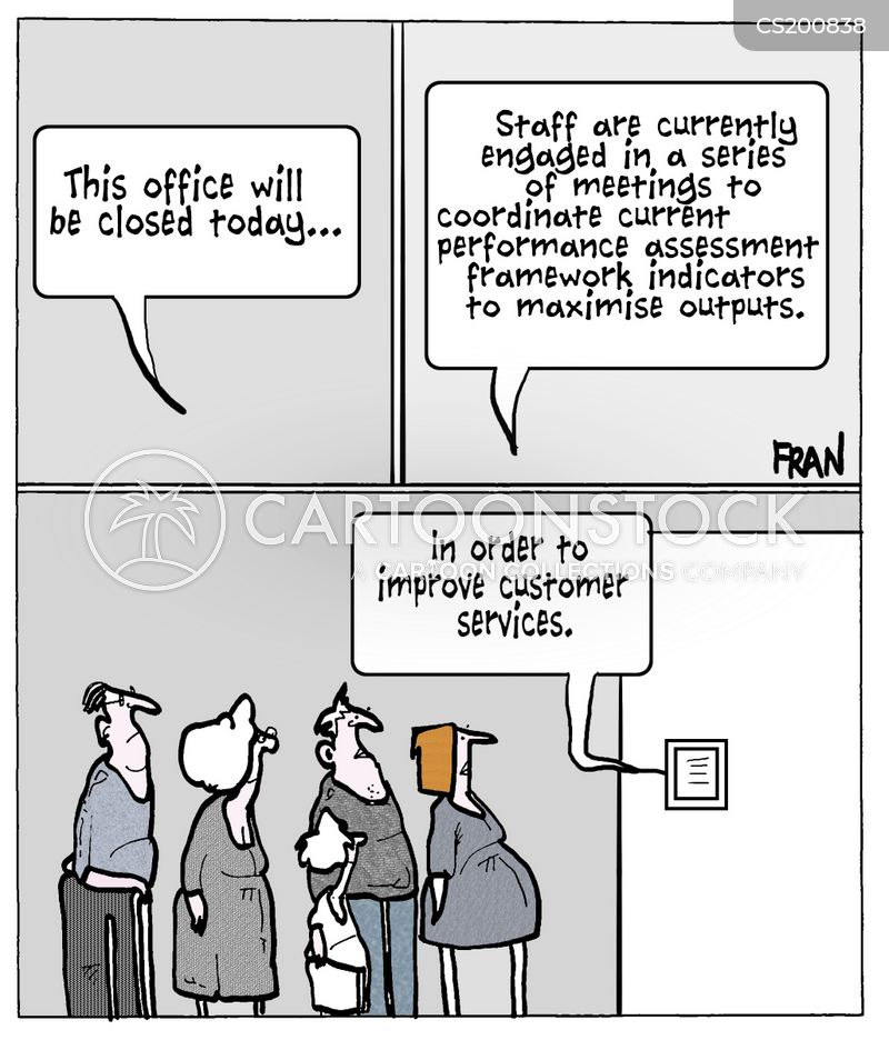 Performance Assessments Cartoon 1 Of 1