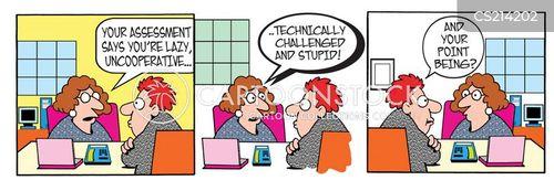 uncooperative cartoon