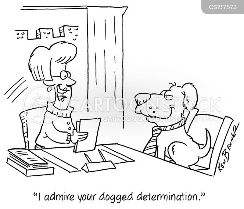 dogged cartoon