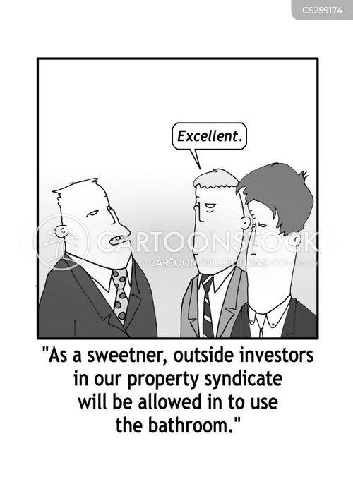 syndicates cartoon