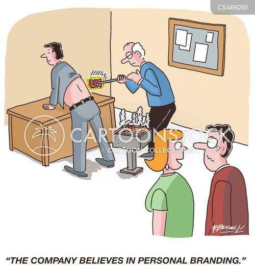 company brand cartoon