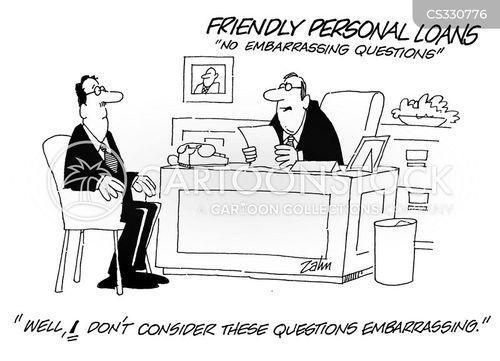 embarrassing questions cartoon