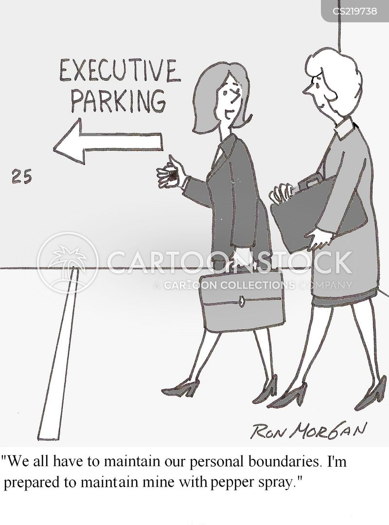 parking place cartoon