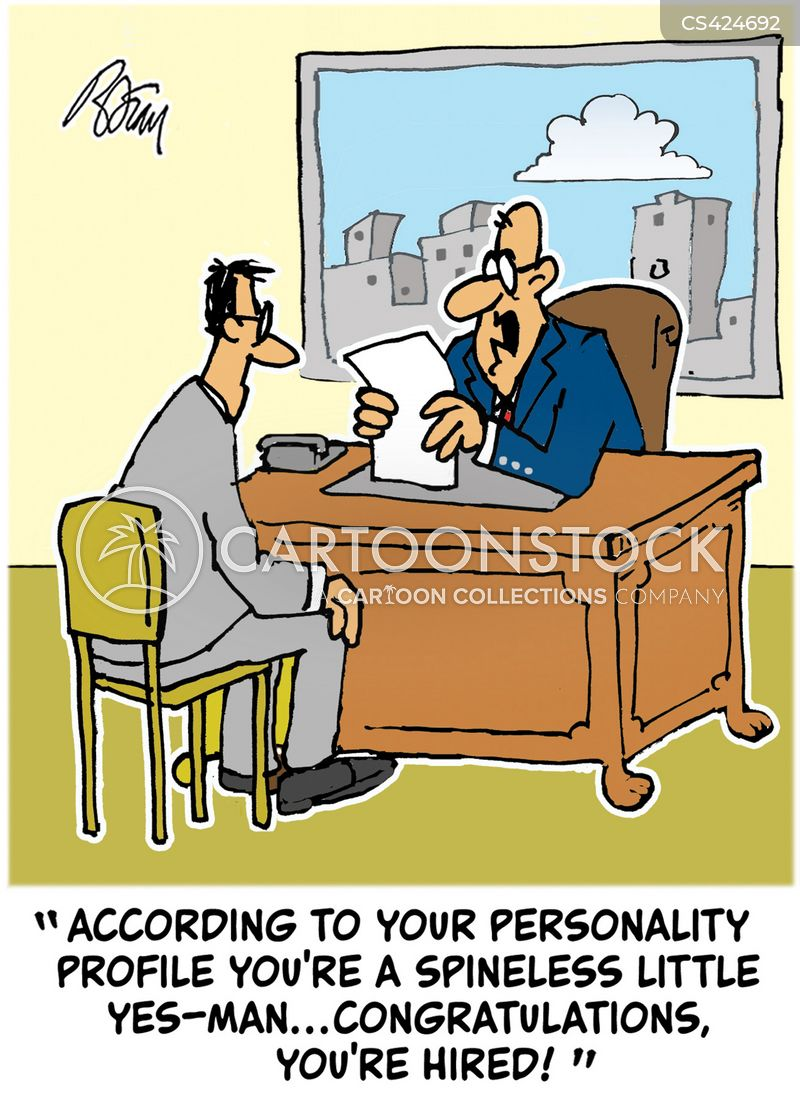 personality test cartoon