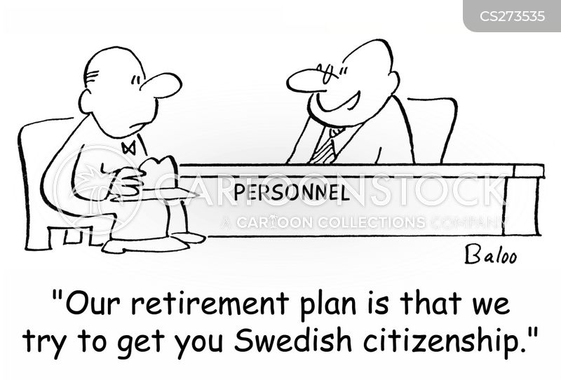 state pensions cartoon
