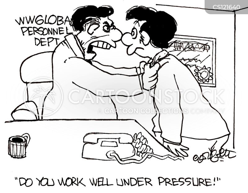 wwglobal personnel do you work well under pressure