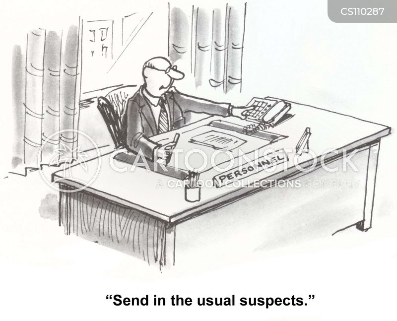 usual suspects cartoon