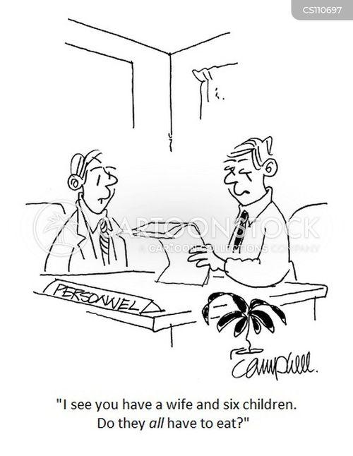 salary negotiations cartoon