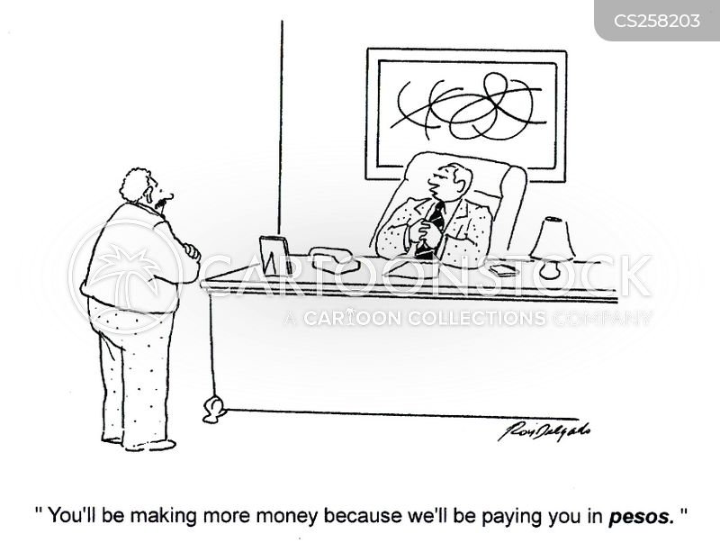 foreign currency cartoon
