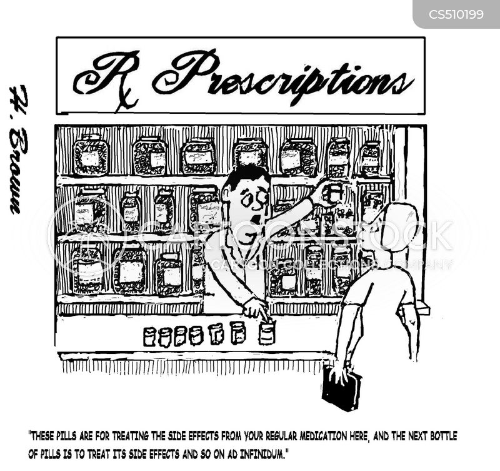 prescription medicine cartoon