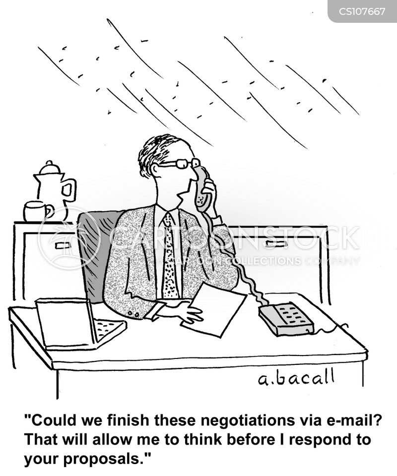 emails cartoon