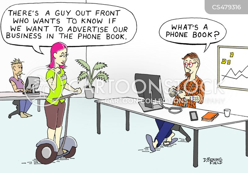 outdated technology cartoon