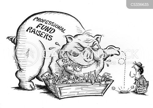 non-profit cartoon