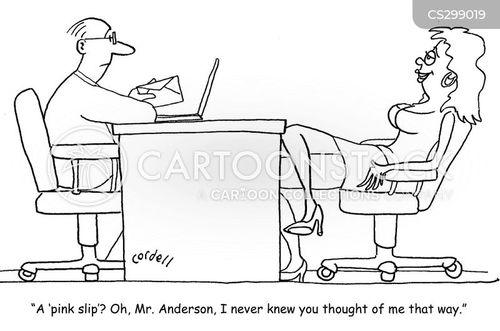 termination of employment cartoon