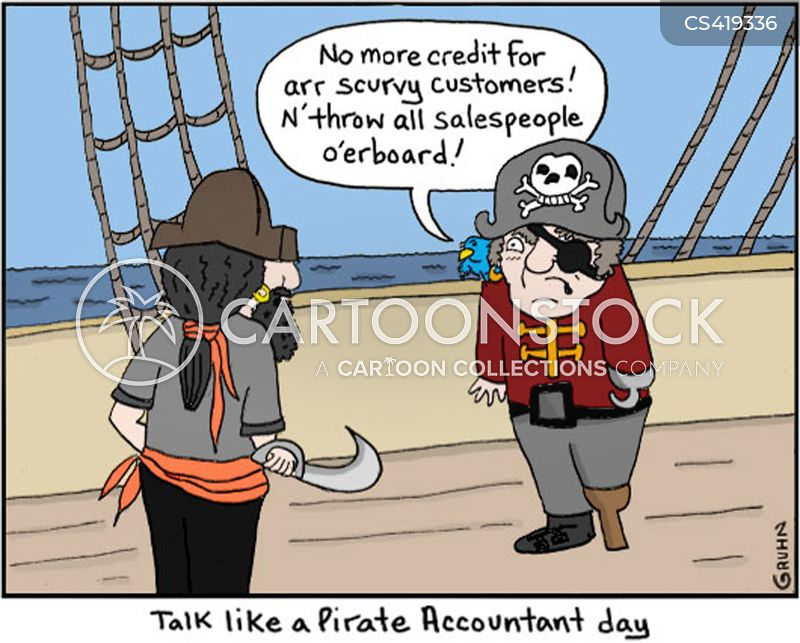 talk like a pirate cartoon