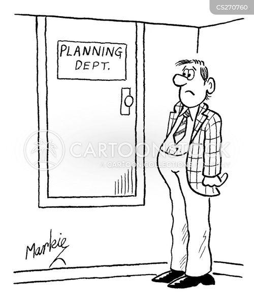 planning departments cartoon