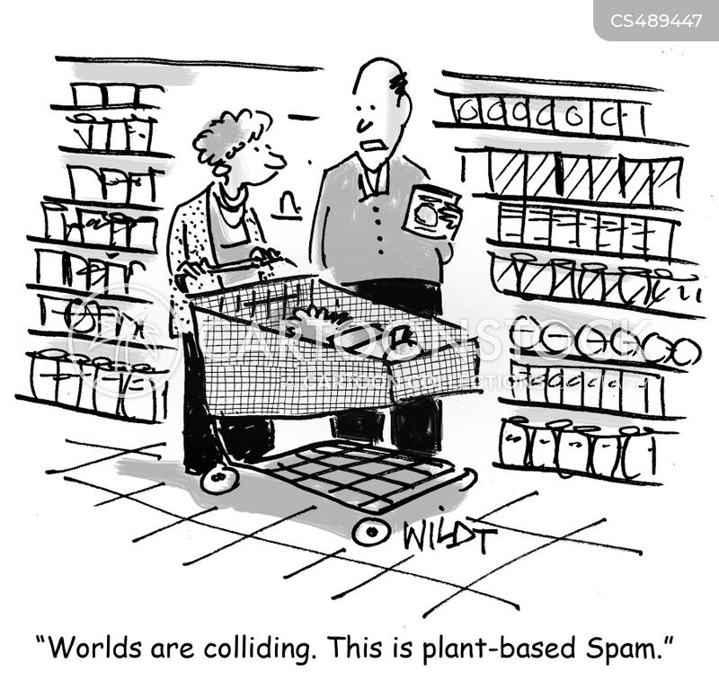 meat-alternative cartoon