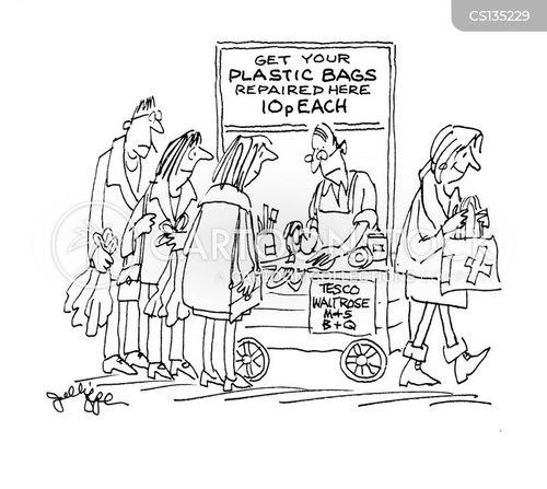 plastics cartoon