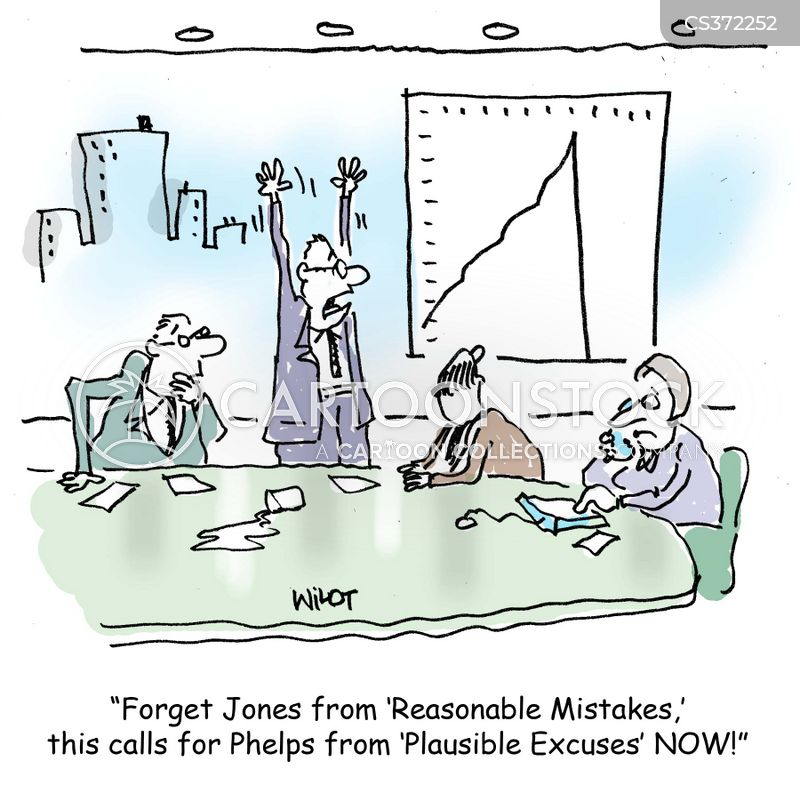 business mistake cartoon