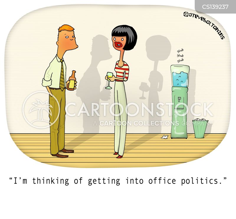 water-cooler cartoon